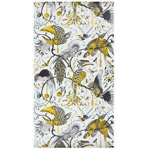 animalia audubon wallpaper  gold metallic emma  shipley ebay