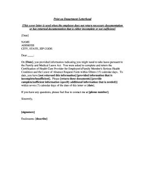 fmla cover letter cover letter 187 fmla cover letter free resume cover and