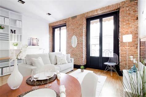 Spain Small Apartment Interior Design Occupy With Loft