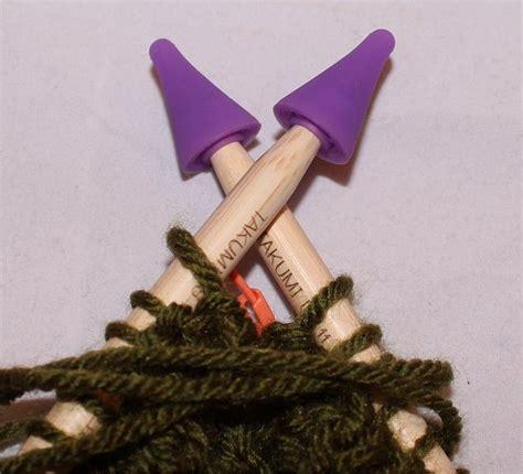 knitting needle point protectors smorgasbord sundays my knitting addiction continues
