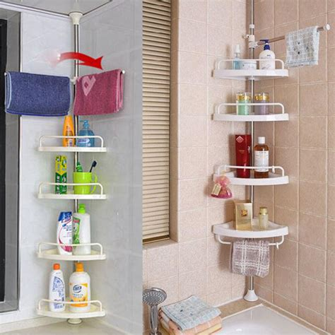 corner shower caddy shelf organizer bath storage bathroom