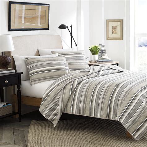 neutral comforters stone cottage frenso neutral quilt set from beddingstyle com