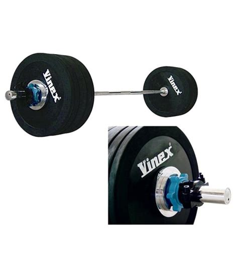 Barbell 3 Kg vinex weight lifting olympic barbell set 140 kg buy at best price on snapdeal
