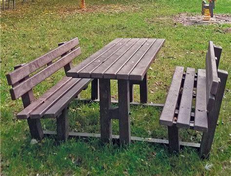 tavolo pic nic tavolo pic nic con schienale preco system