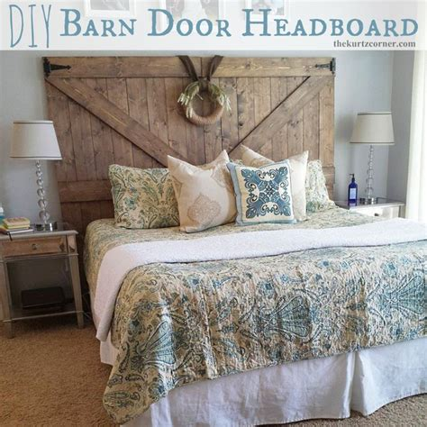diy headboard door diy barn door headboard diy craft ideas pinterest