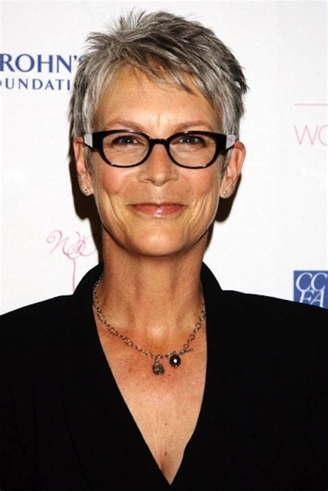 how to cut hair like jamie lee curtis in this heat the pixie haircut has its appeal but before