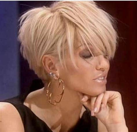 blonde short hair cut on dancing with the stars like haarstijlen pinterest hair style short hair