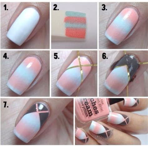 simple design tool easy nail for beginners step by step tutorials