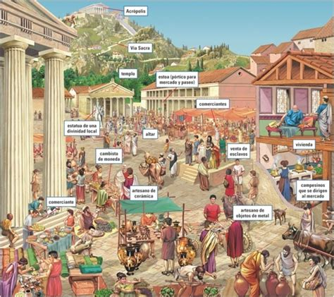how did rome treat different sections of its conquered territory the agora in athens probably did not look much different
