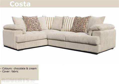 cream corner sofa fabric corner sofa in soft cream cord fabric living room