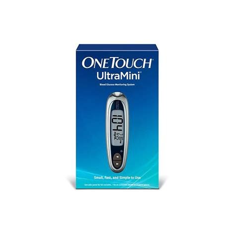 One Touch Glucose Meter onetouch ultramini blood glucose meter kit