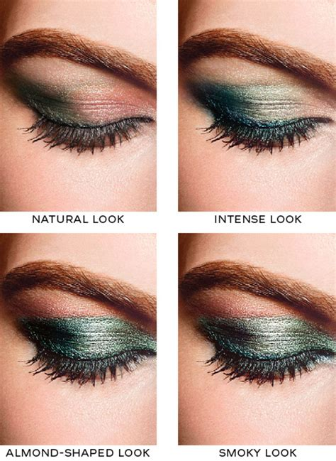 Eyeshadow Ombre chanel eye makeup chart how to wear chanel les 4 ombres