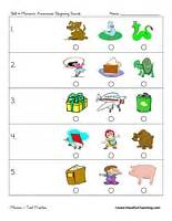 Preschool test practice have fun teaching