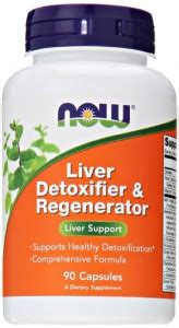 Now Detox Support Review by Now Liver Detoxifier Regenerator My Go Healthy