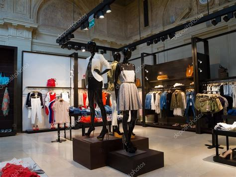 Interior Clothes by Interior Of Clothing Store Stock Photo 169 Toxawww 12050751