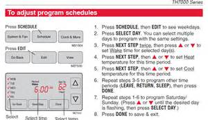 comfort stat manual how to set ultrastat thermostat temperature also need manual