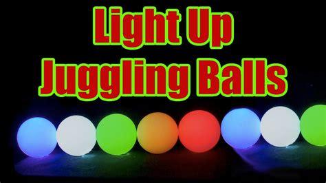 light up balls buy light up led juggling balls