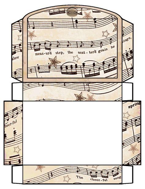 lego gift box template large free printables pinterest artbyjean vintage sheet music printable gift boxes
