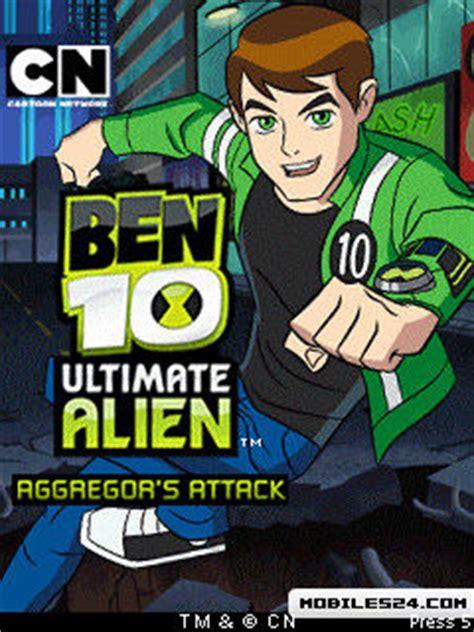 java ben 10 themes ben 10 ultimate alien aggregor s attack 176x208 nokia