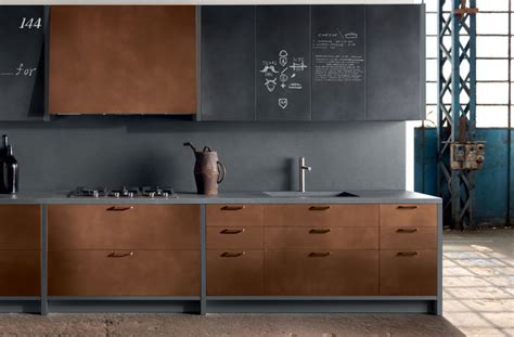 Kitchens With Grey Cabinets copper kitchen cabinets modern kitchen new york by