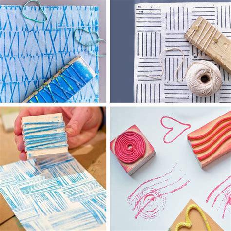 tutorial timbri scrapbooking 10 idee creative per realizzare timbri fai da te ispirando