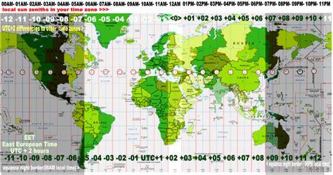 utc map gmt time zone map memes