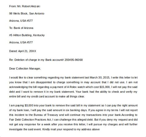 Credit Deletion Letter Template Sle Letter Of Credit 14 Sles Exles Format