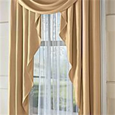 jcpenney supreme drapes supreme cascade swag set valances