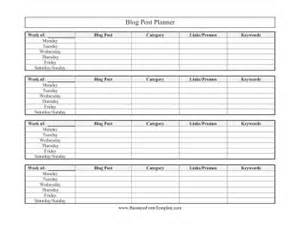 Post Planner Template by Post Planner Template