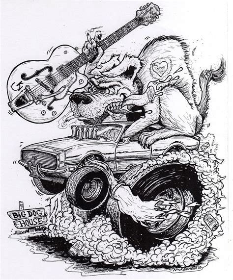 coloring pages of rat fink 17 best images about coloring pages on pinterest cars