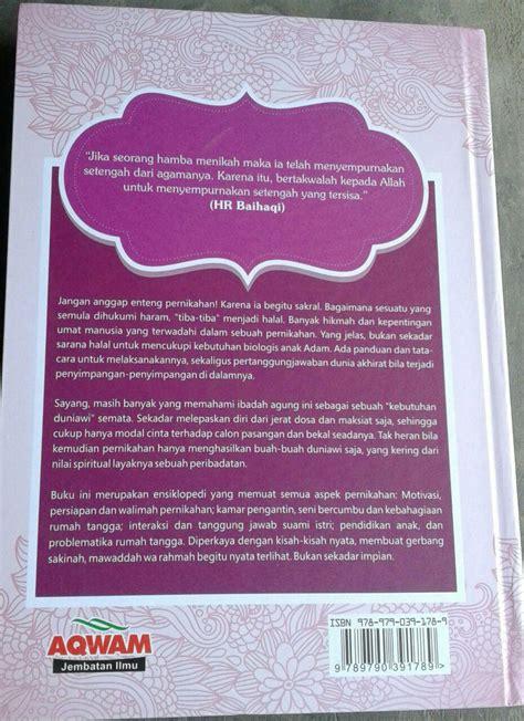 Buku Fikih Kontemporer Wanita Pernikahan 500 Jawab buku masterpiece pernikahan islam bekal pengantin toko muslim title