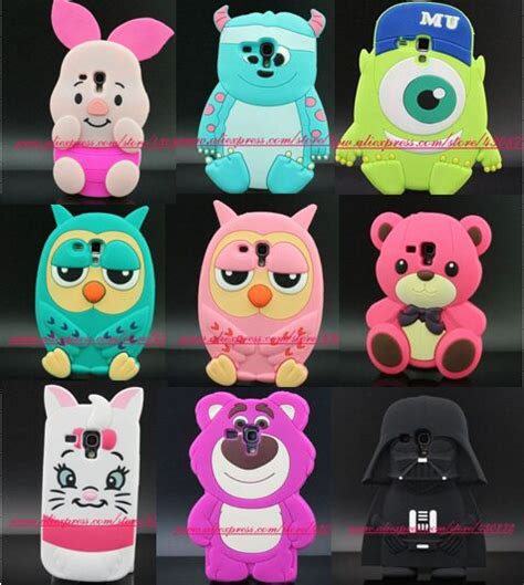 Inc Sulley Mike 3d Samsung Galaxy S6 3d silicon sulley cat owl mike piglet soft phone back skin cover for