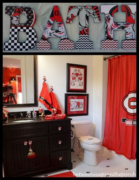 georgia bulldog home decor 1000 images about georgia bulldog fan on pinterest