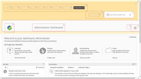 alfresco debug menu for developers arvixe blog