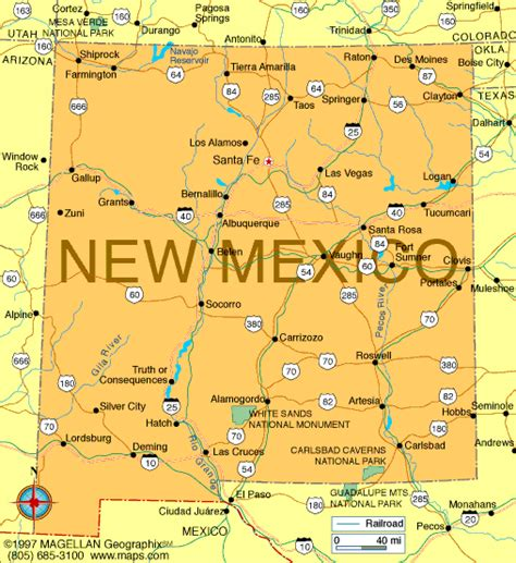 map of new mexico cities new mexico road map geology atlas new mexico