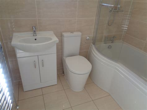 p shaped bathtub old bathroom updated to a new fitted bathroom leamington spa