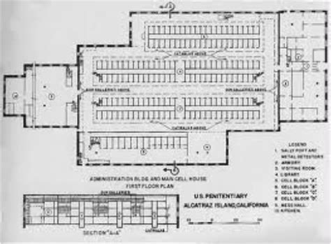 prison floor plans find house plans alcatraz floor plan home