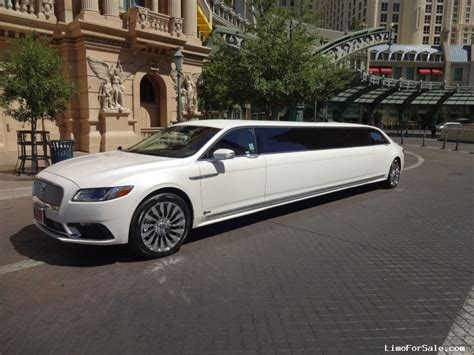 Lincoln Limousine by New 2017 Lincoln Continental Sedan Stretch Limo Specialty