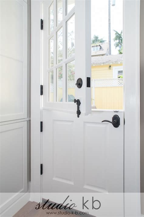 Built In Door Closer by Door Hardware Laundry Room Traditional With Black
