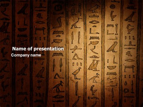 egyptian themes for powerpoint egyptian hieroglyphs presentation template for powerpoint
