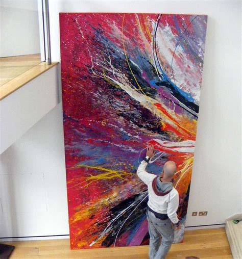 large abstract art  sale  big modern art paintings