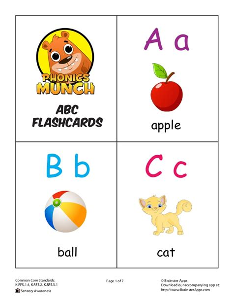 Alphabet Letters With Pictures Flashcards Pdf