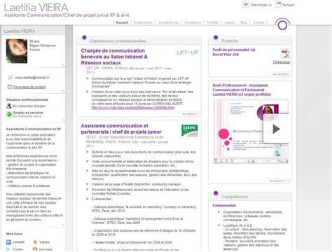 Nouveau Modèle De Cv by Nouveau Design Cv Doyoubuzz Communication World