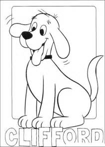 pics photos clifford coloring pages halloween