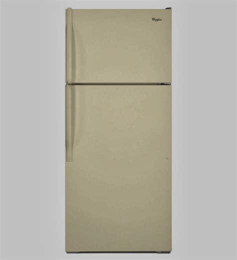 bisque colored refrigerators 28 images shop whirlpool whirlpool refrigerator brand bisque w8txnwfwt top freezer