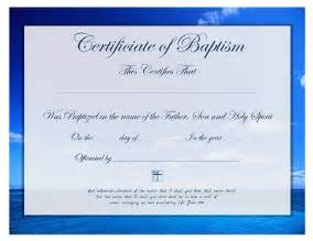 free printable baptism certificate template prayers
