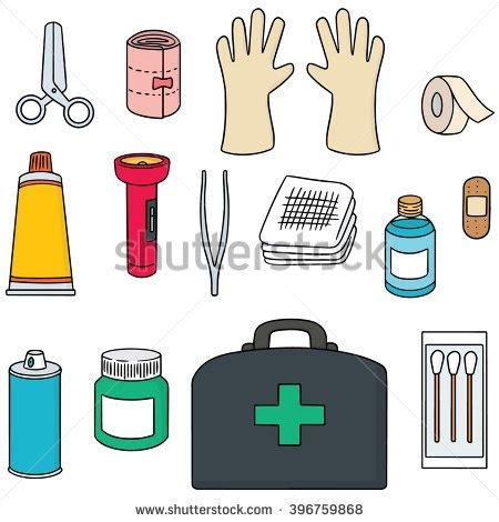 aid kit medicine contents aid kit contents clipart 8 187 clipart station