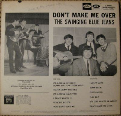 the swinging blue jeans don t make me over roots vinyl guide