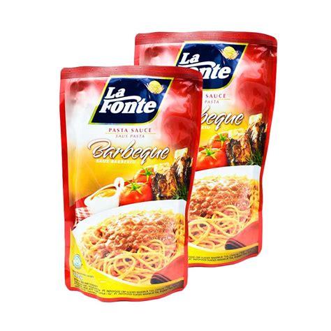 Harga Saus Spaghetti jual rekomendasi seller la fonte saus pasta berbeque