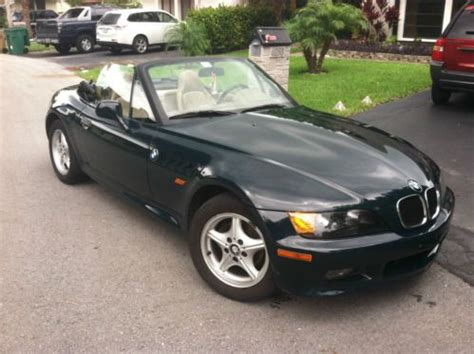 sell used bmw z3 1997 roadster manual transmission convertible in fort lauderdale florida